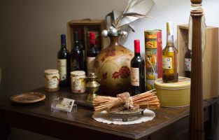 Bodegón de productos típicos del Campo de Montiel